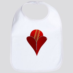 Love Cricket Bib
