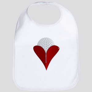 Love Golf Bib