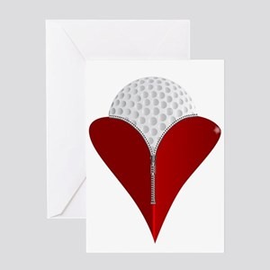Love Golf Greeting Cards