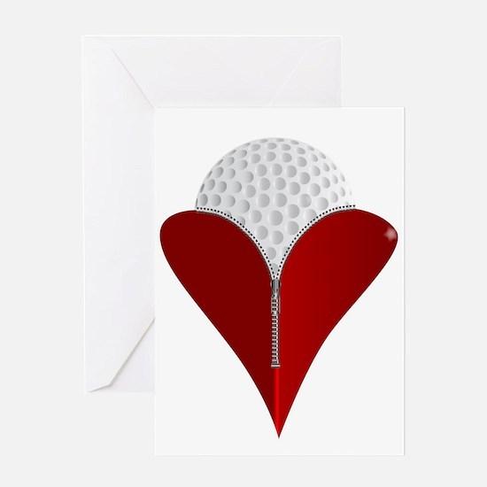 Love Golf Greeting Cards
