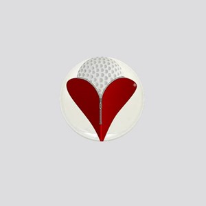 Love Golf Mini Button