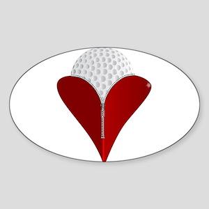 Love Golf Sticker