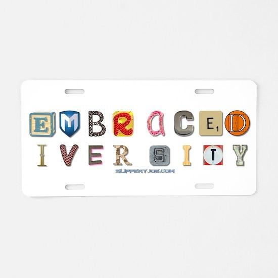 Unique Love letters Aluminum License Plate