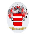 Ulman Oval Ornament