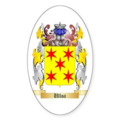Ulloa Sticker (Oval 10 pk)
