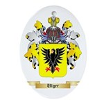 Ulger Oval Ornament