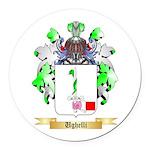 Ughelli Round Car Magnet