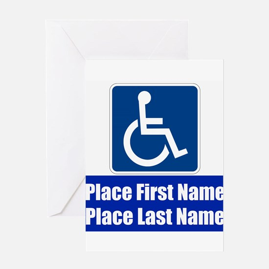 Handicapped Disabled Greeting Cards