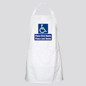 Handicapped Disabled Apron