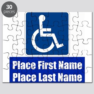 Handicapped Disabled Puzzle