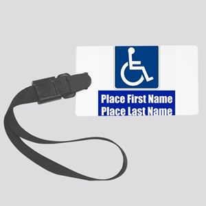 Handicapped Disabled Luggage Tag