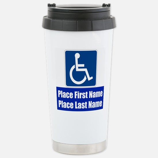 Handicapped Disabled Travel Mug