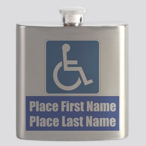 Handicapped Disabled Flask
