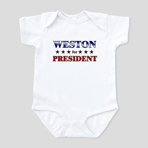 WESTON for president Infant Bodysuit