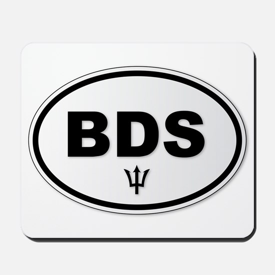 Barbados BDS Plate Mousepad