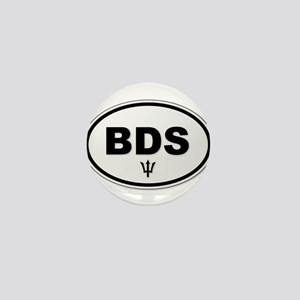 Barbados BDS Plate Mini Button