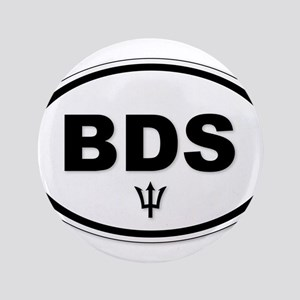 Barbados BDS Plate Button
