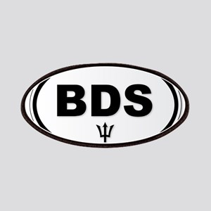 Barbados BDS Plate Patch