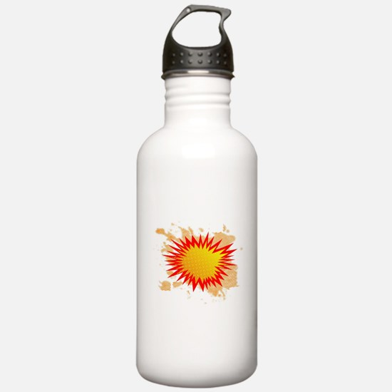 Splat BackgroundSplat Water Bottle