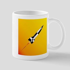 V2 Rocket Launch Mugs