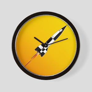 V2 Rocket Launch Wall Clock