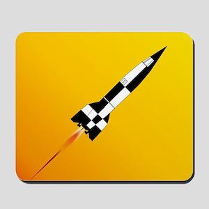 V2 Rocket Launch Mousepad