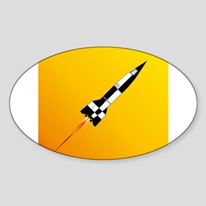 V2 Rocket Launch Sticker