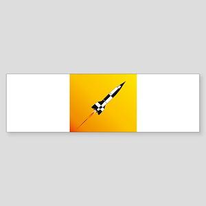 V2 Rocket Launch Bumper Sticker