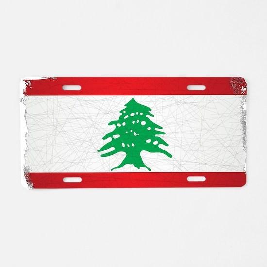 Cute Lebanon Aluminum License Plate
