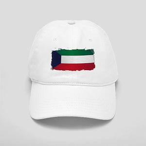 Flag of Kuwait Grunge Cap
