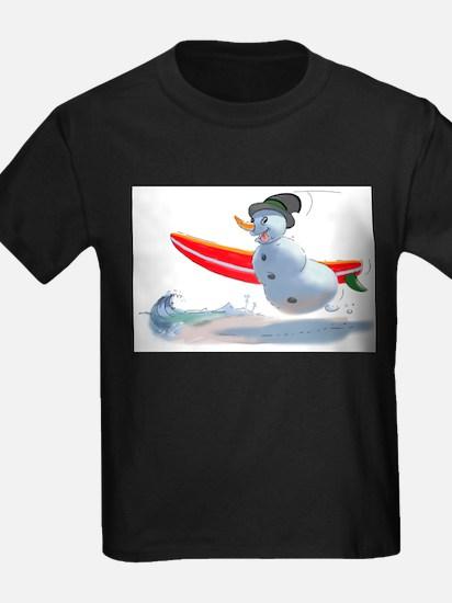 sUrFeR sNoWmAn Ash Grey T-Shirt