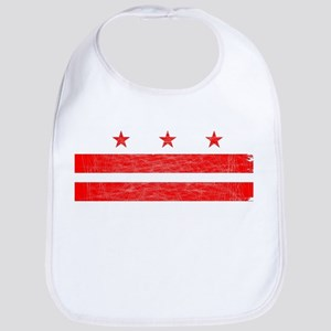 Washington DC State Flag Bib