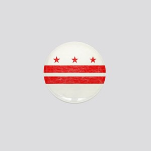 Washington DC State Flag Mini Button