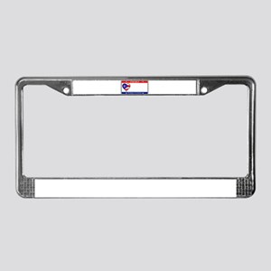 Ohio License Plate License Plate Frame