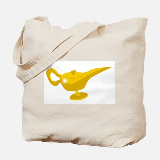 Genie Magic Lamp Tote Bag