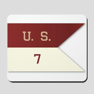 7th Cavalry Flag Mousepad