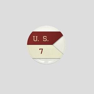 7th Cavalry Flag Mini Button