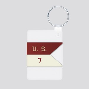 7th Cavalry Flag Keychains