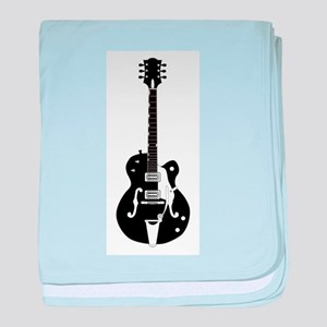 Country Guitar baby blanket