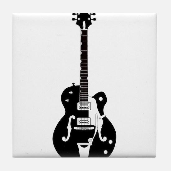 Country Guitar Tile Coaster