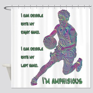 I Can Dribble Shower Curtain