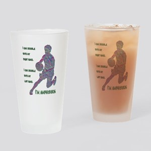 I Can Dribble Drinking Glass
