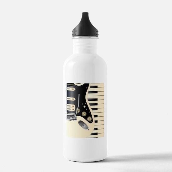 Music Duo Water Bottle