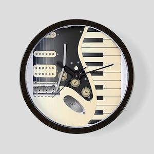 Music Duo Wall Clock
