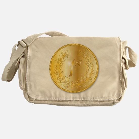 Gold Medal Messenger Bag