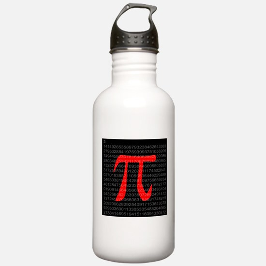 The Constant Pi Water Bottle