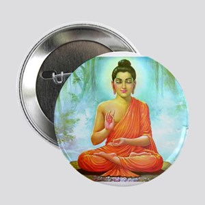 "Peaceful Buddha 2.25"" Button (10 pack)"