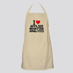 I Love Applied Behavior Analysis Light Apron