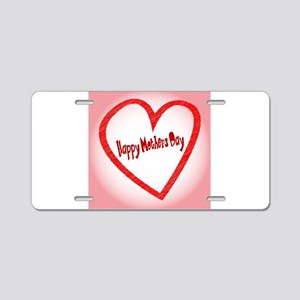 Happy Mothers Day Aluminum License Plate
