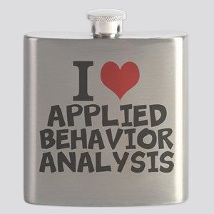 I Love Applied Behavior Analysis Flask